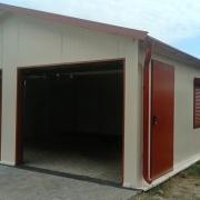 ocieplany garaz