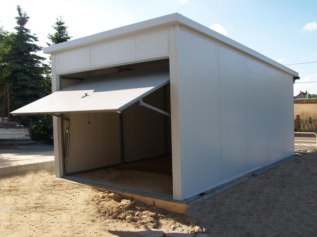 Inteligentny Garaże blaszane - Erapol - blaszaki, garaże powlekane, ocieplane QD37