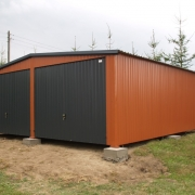 Garaż 6m x 6m dwuspad