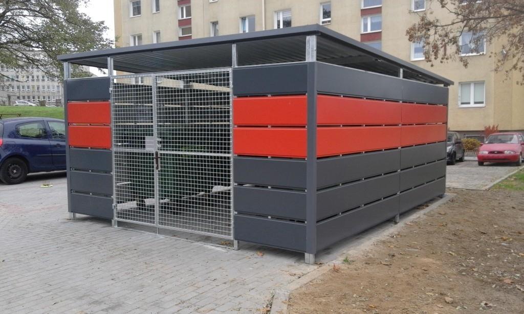Wiaty śmietnikowe Altany śmietnikowe Wiaty Panelowe