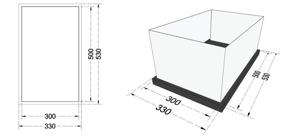 Przygotowanie podłoża - wylewka betonowa.